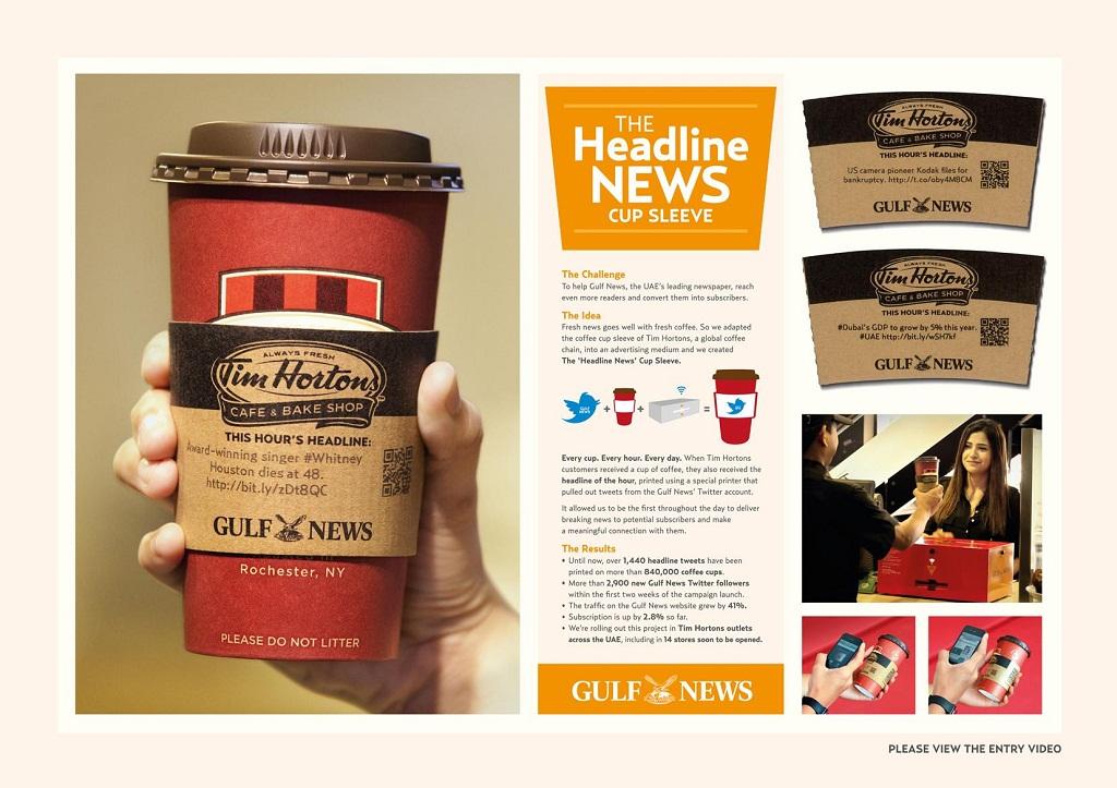 новини на чашці з кавою популярна ідея