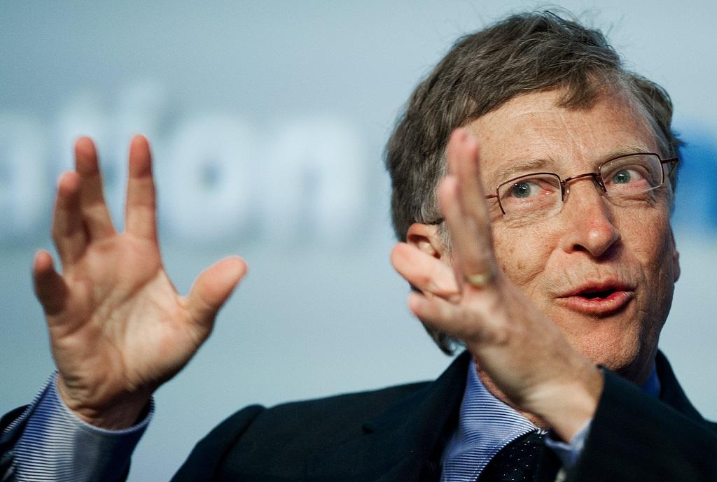Бизнес в возрасте от 20 до 30 лет Билл Гейтс
