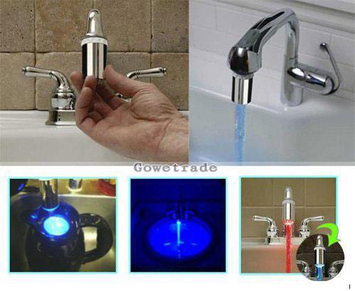 Вода в крані різних кольорів