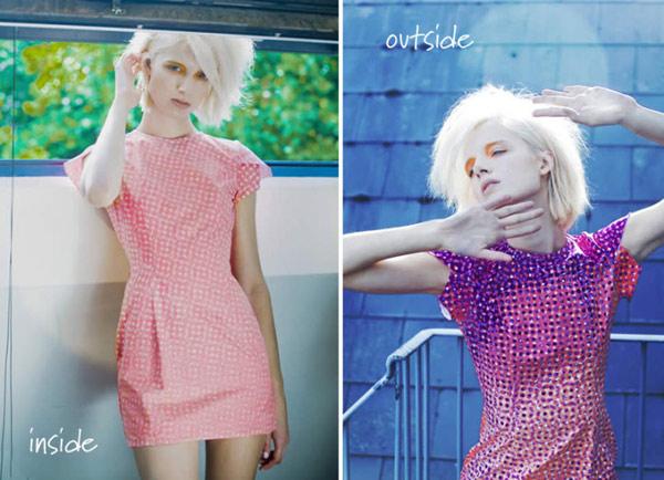 Одяг, яка самостійно змінює колір