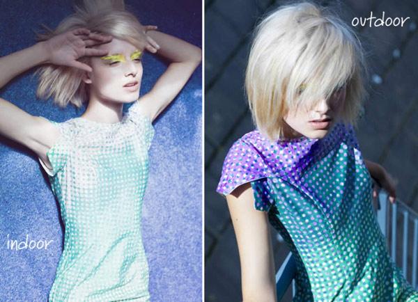 Одяг, яка самостійно змінює цвет1