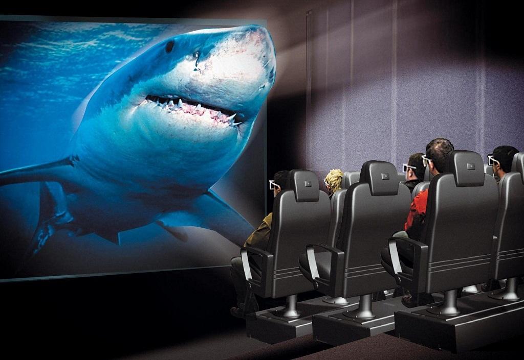 3D кінотеатр спецефекти