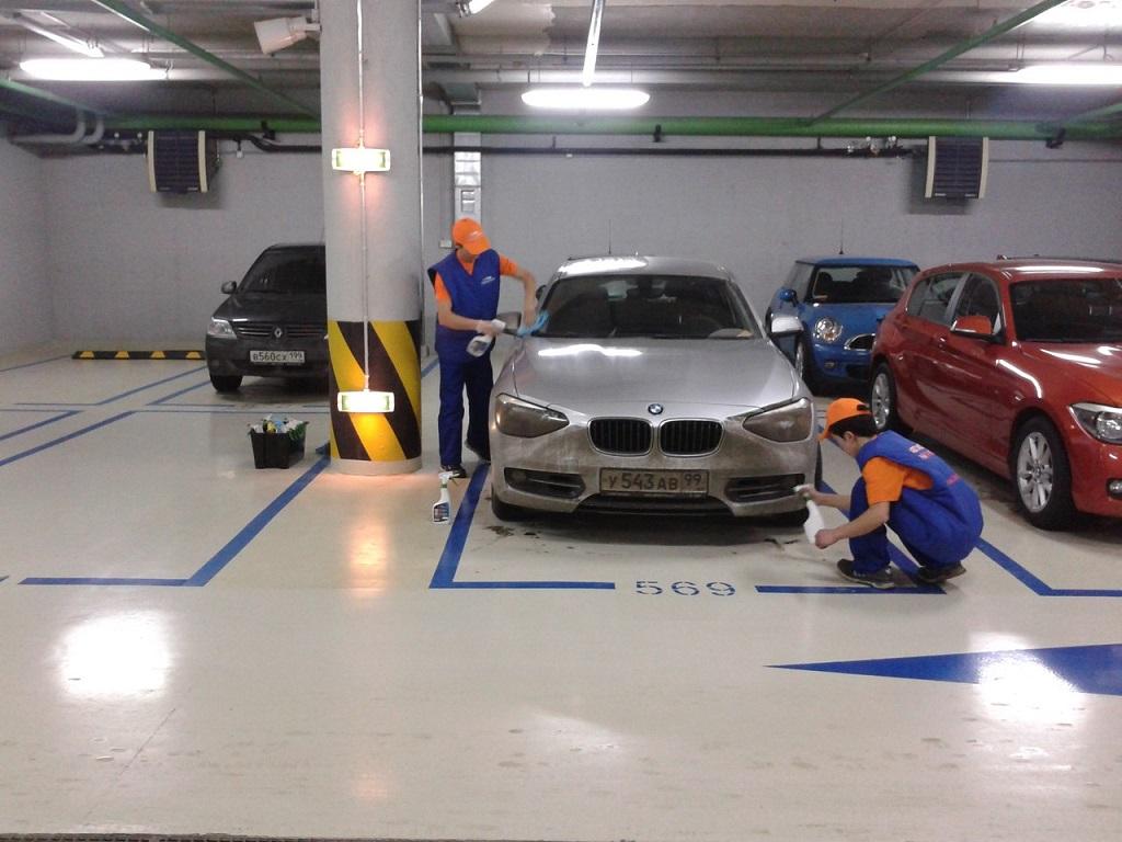 Мини – автомобильная мойка в гараже