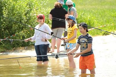 Школа риболовлі де організувати