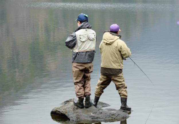 друзья на рыбалке картинки