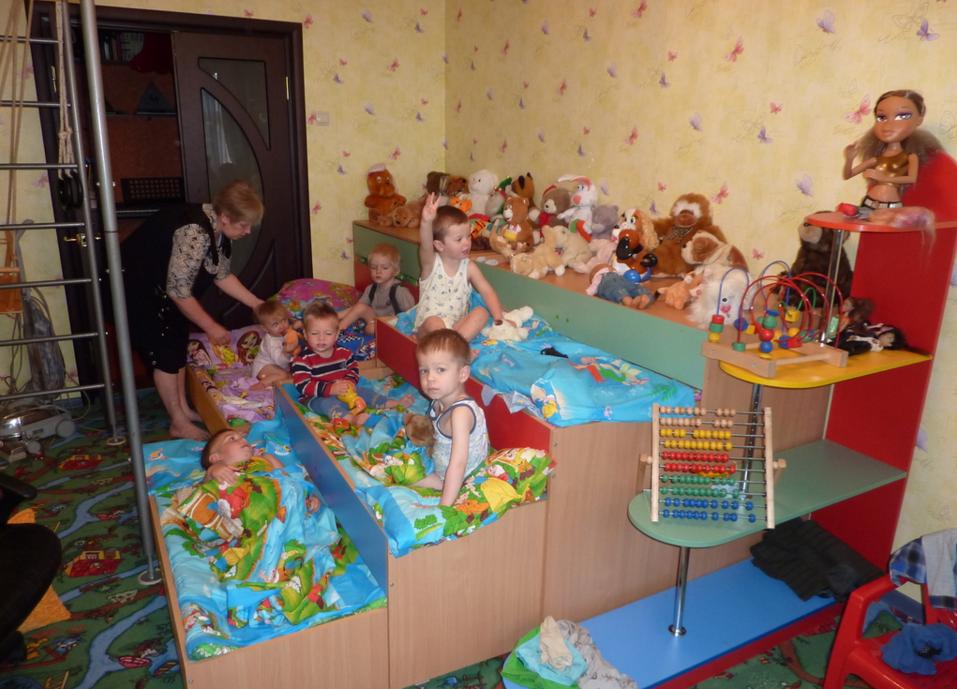 як організувати дитячий сад будинку