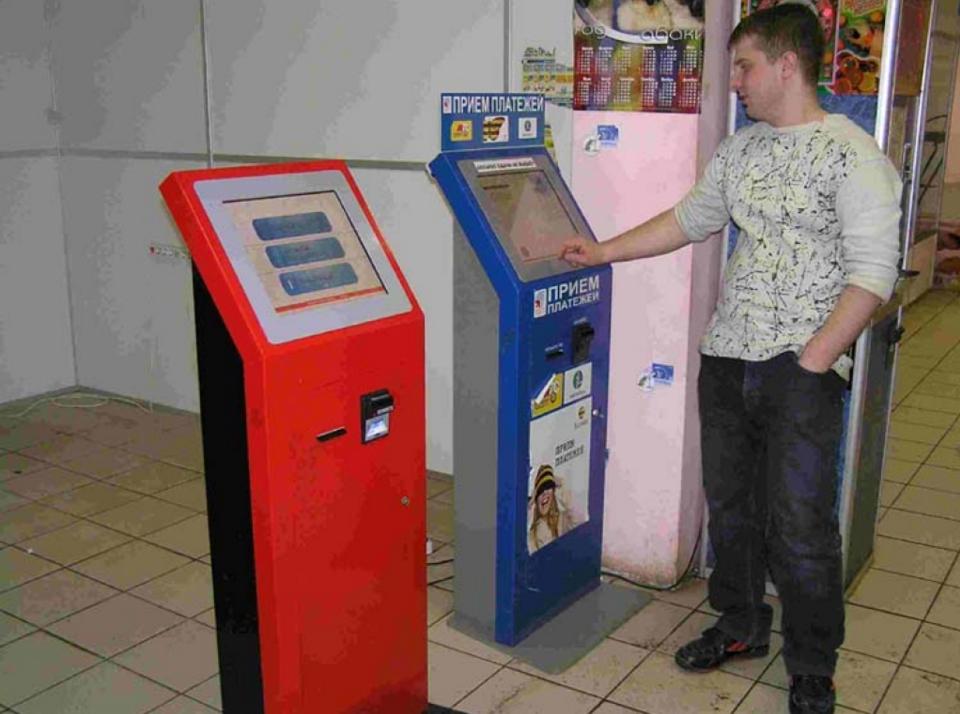 бизнес-идея на установке платежных терминалов