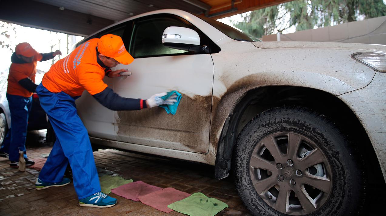 Бизнес-идея открытия сухой автомойки