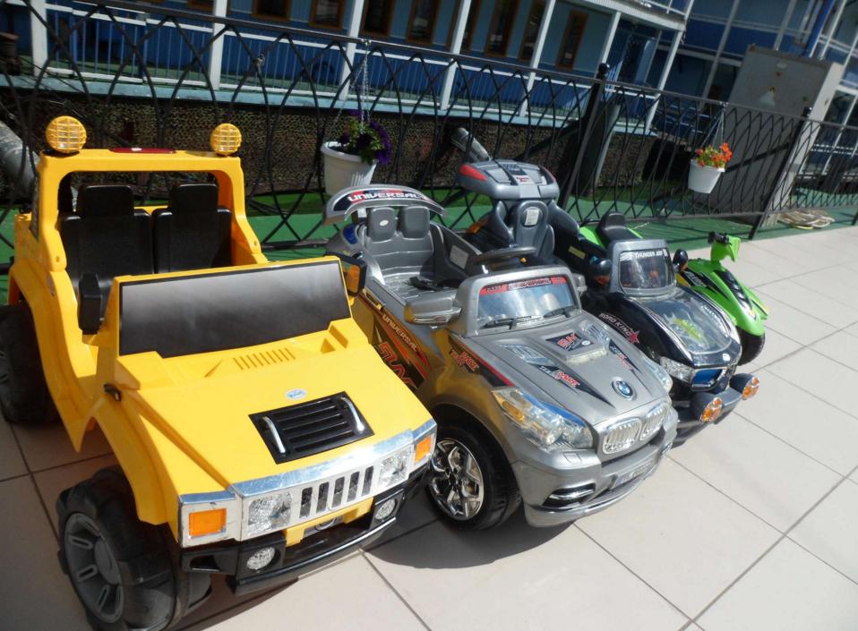 бизнес-идея проката детских электромобилей