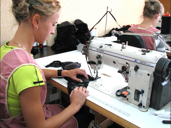 як організувати бізнес з пошиття жіночої білизни