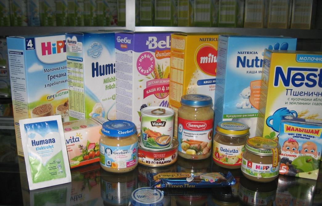 бизнес-идея магазина детского питания