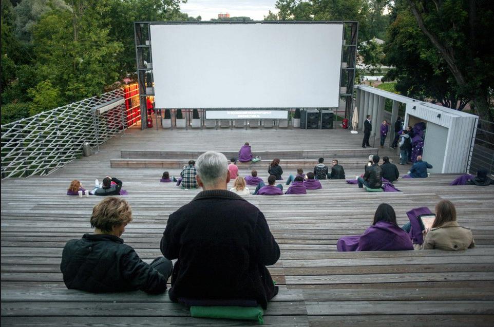 как организовать бизнес по открытию летнего кинотеатра