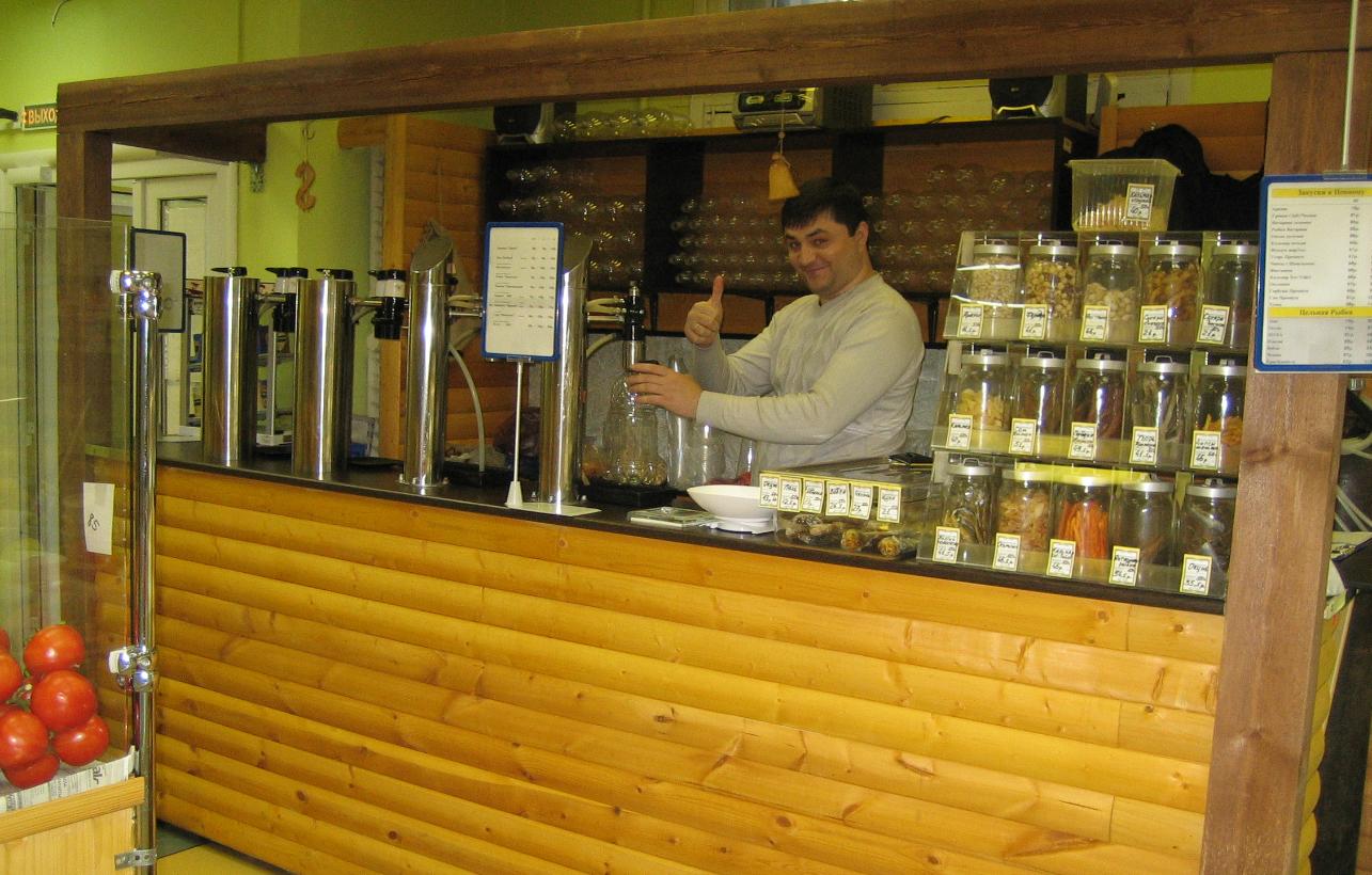 бізнес з відкриття магазина розливного пива