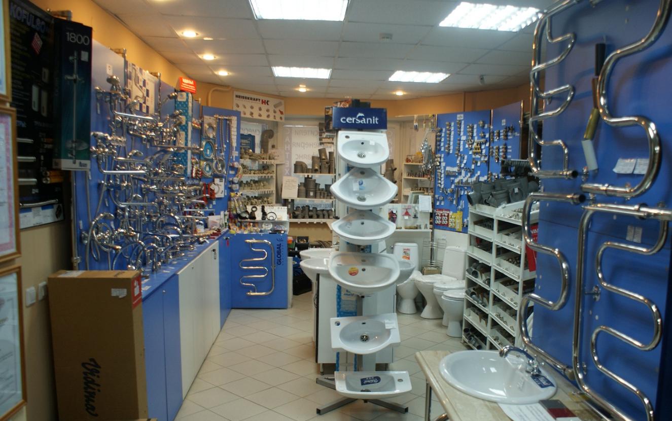 бизнес по открытию сантехнического магазина