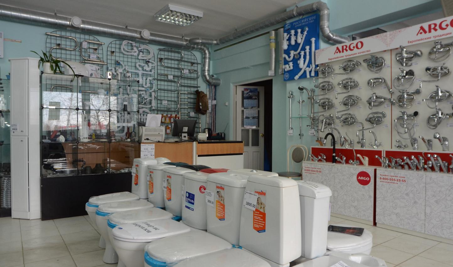 Как организовать бизнес по открытию магазина сантехники