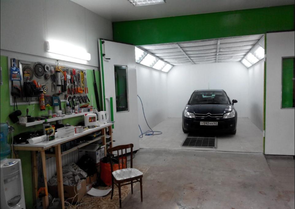 бізнес-ідея автосервісу з ділянкою фарбування автомобіля