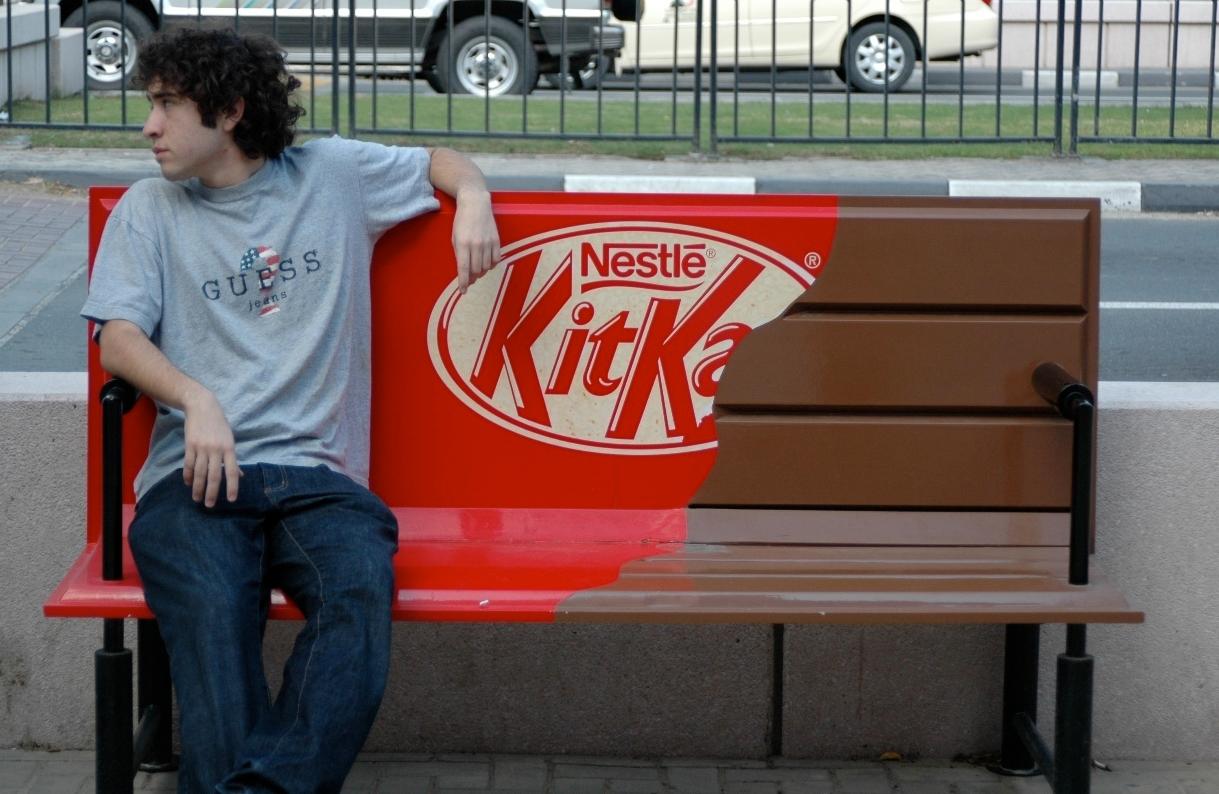 Бизнес-идея размещения рекламы на скамейках