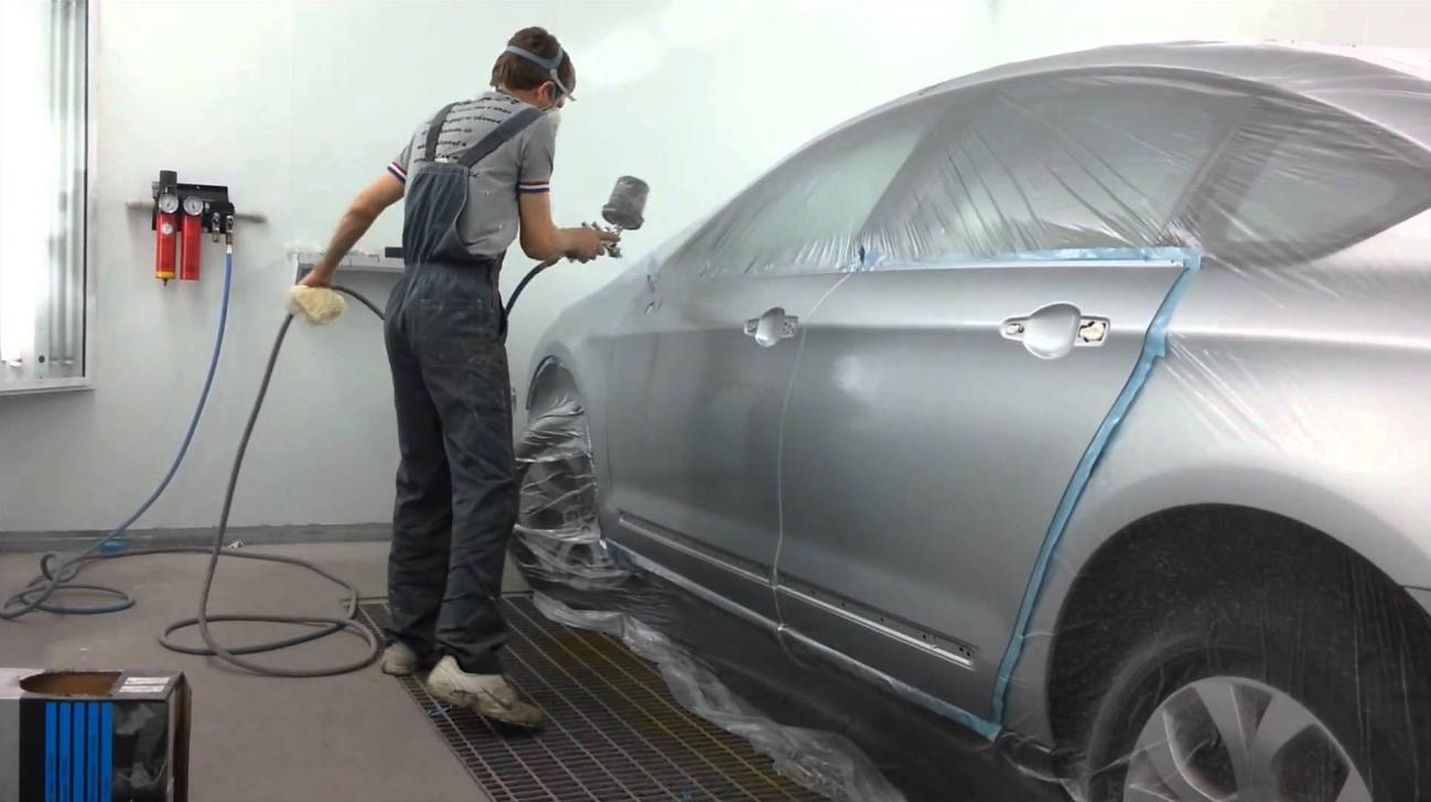 Покраска автомобиля переход своими руками