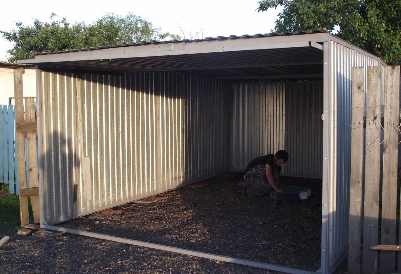 Как организовать бизнес по производству гаражей-пеналов