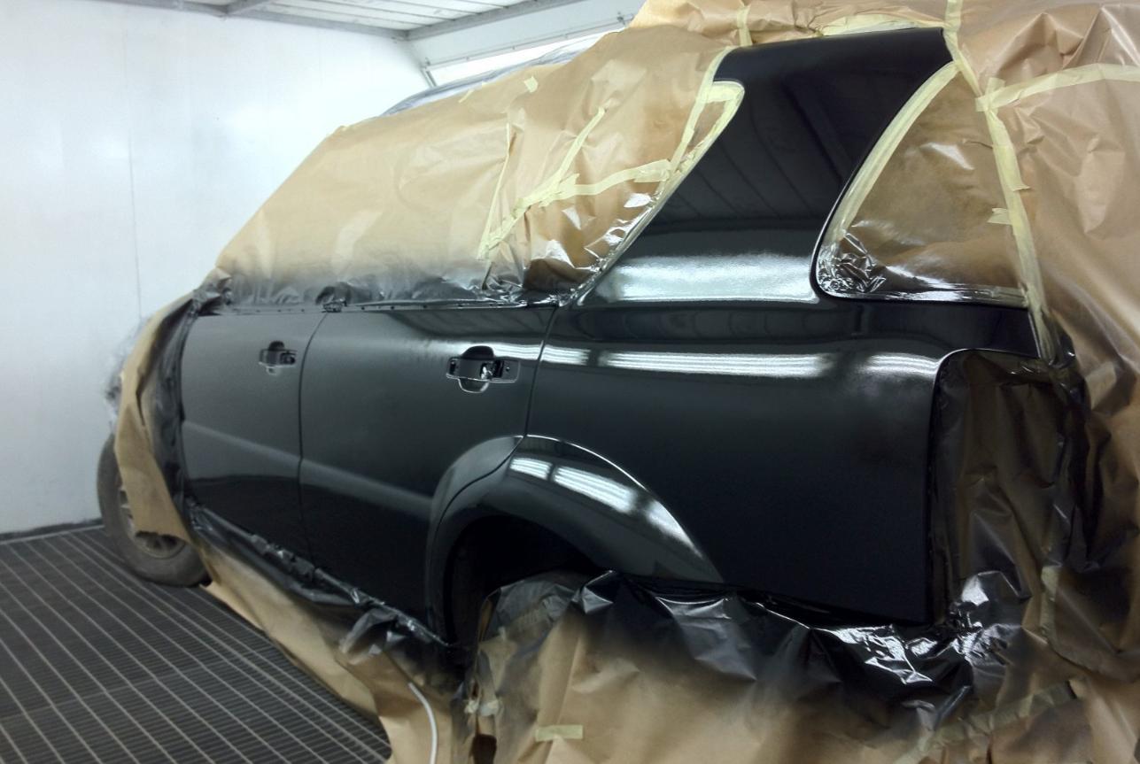 покраска частей кузова автомобиля