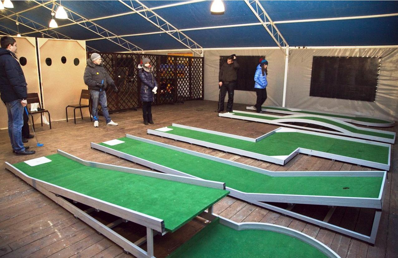 Бизнес-идея открытия закрытой мини-гольф площадки
