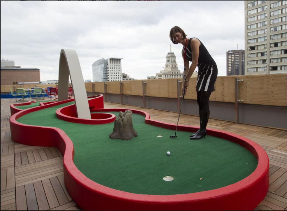 бізнес-ідея відкриття міні-гольф площадки