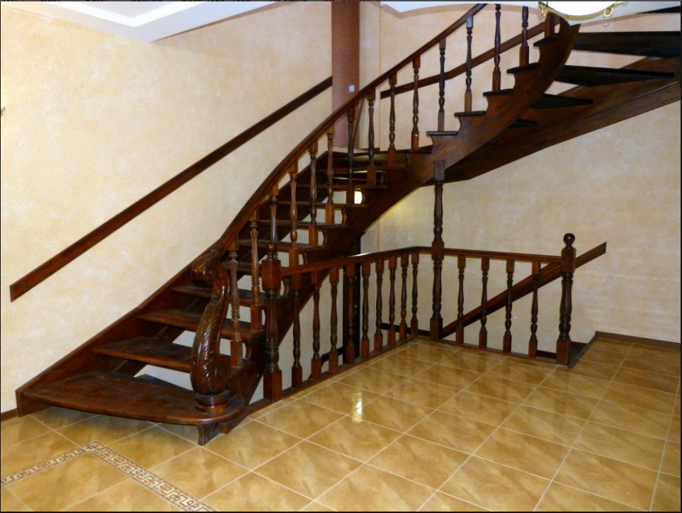 бізнес-ідея виробництва сходів з дерева і металу