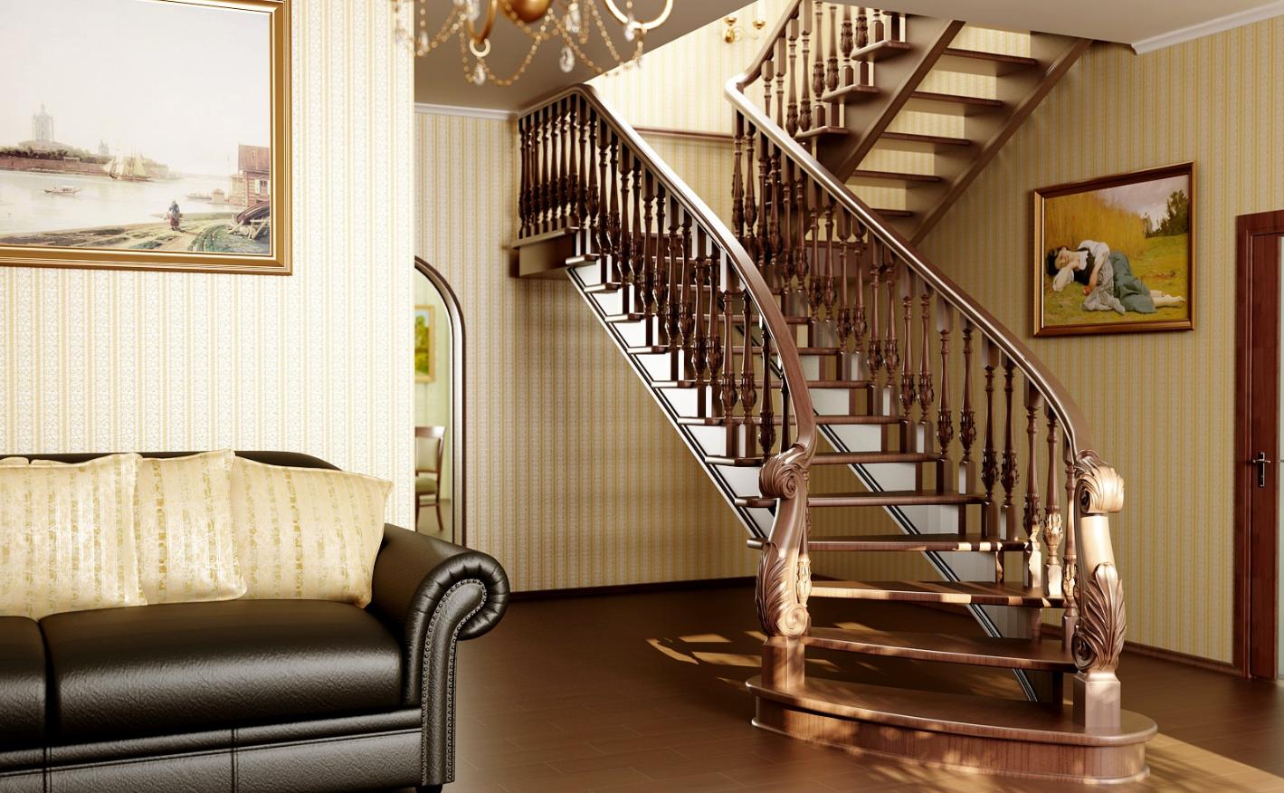 деревянных лестниц - Бизнес-идея изготовления лестниц