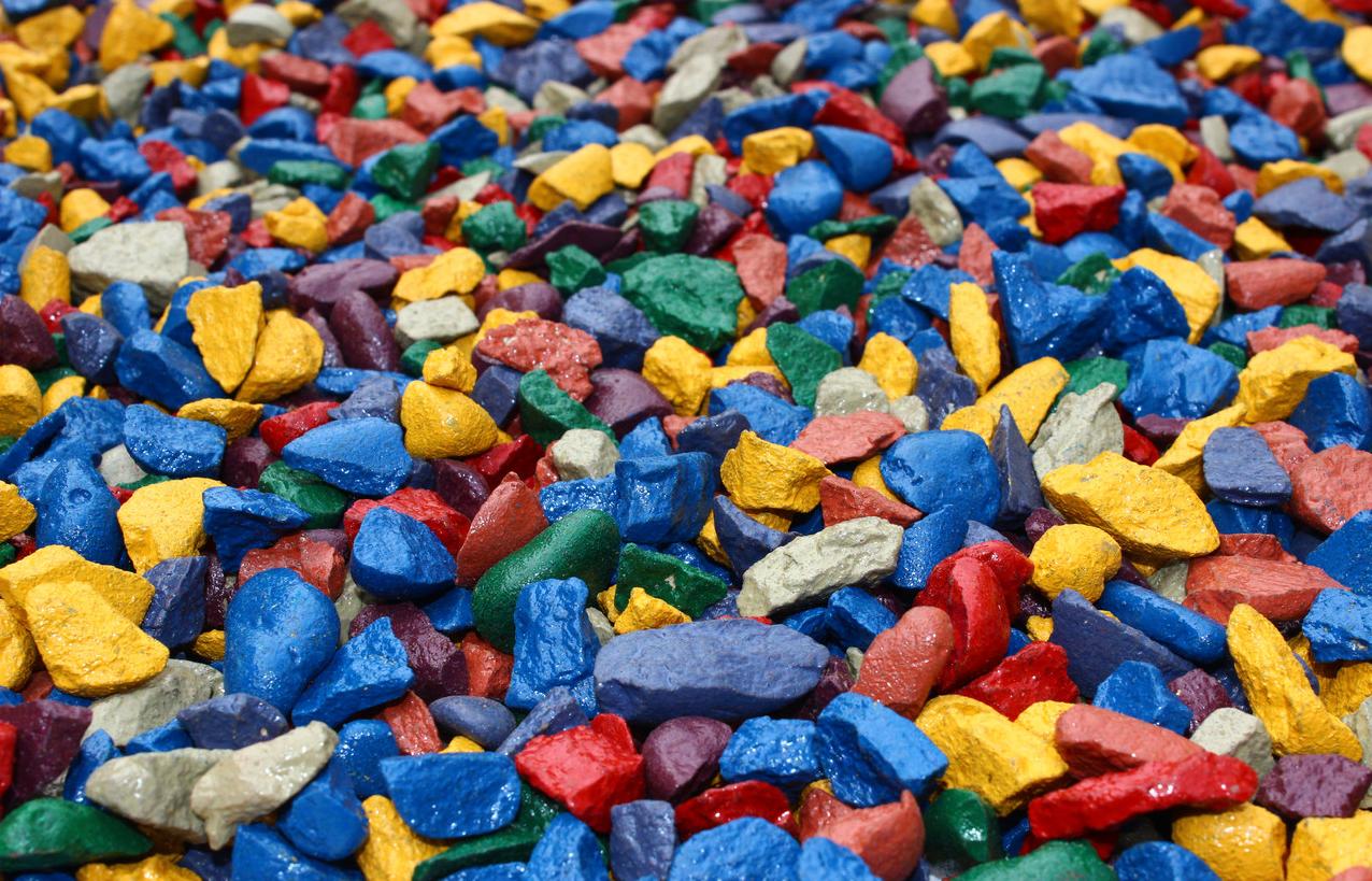Новичку в производстве цветного щебня