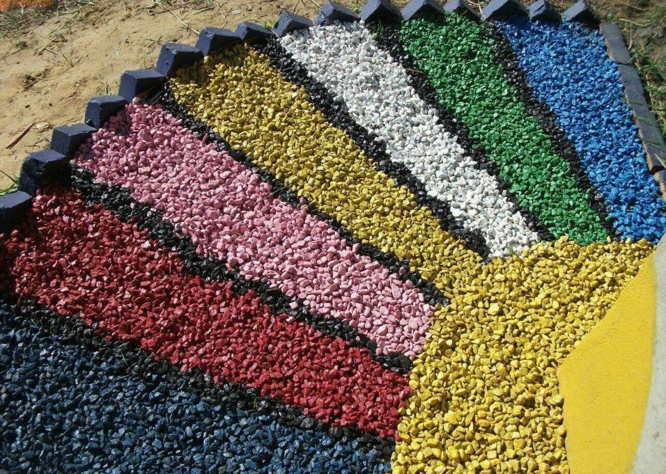як організувати бізнес з виробництва кольорового щебеню