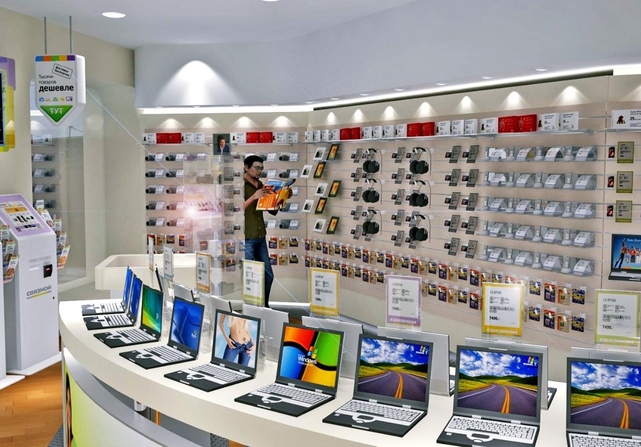 асортимент товару магазину мобільних телефонів