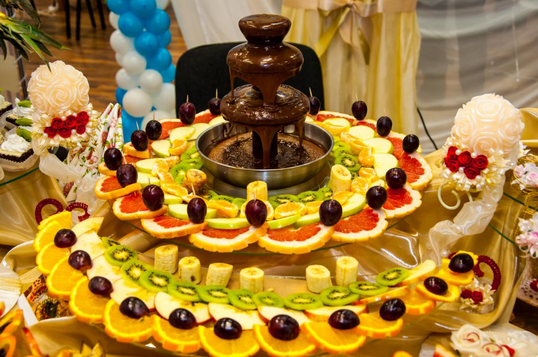бізнес ідея оренди шоколадних фонтанів