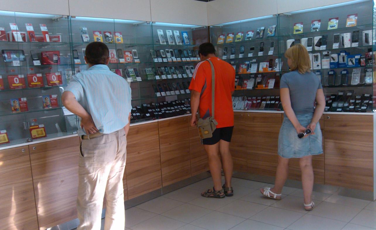 бізнес-ідея магазину з продажу мобільних телефонів