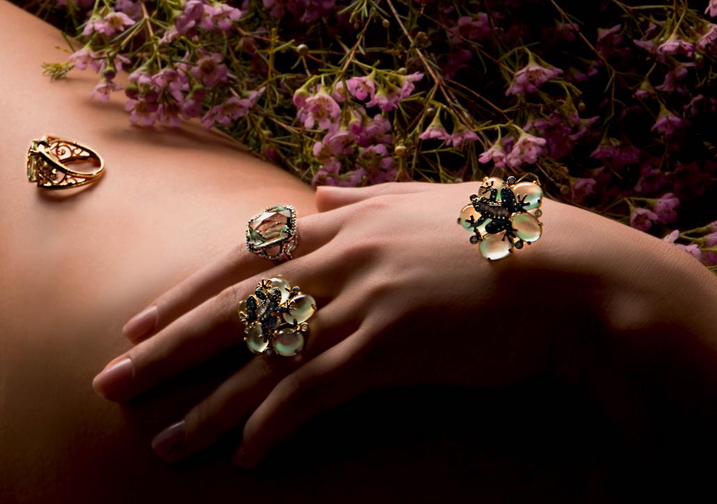 Красивое фото ювелирных украшений