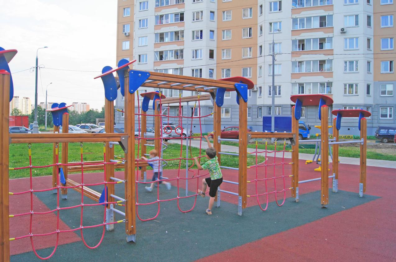 бизнес-идея производства детских спортивно-игровых площадок