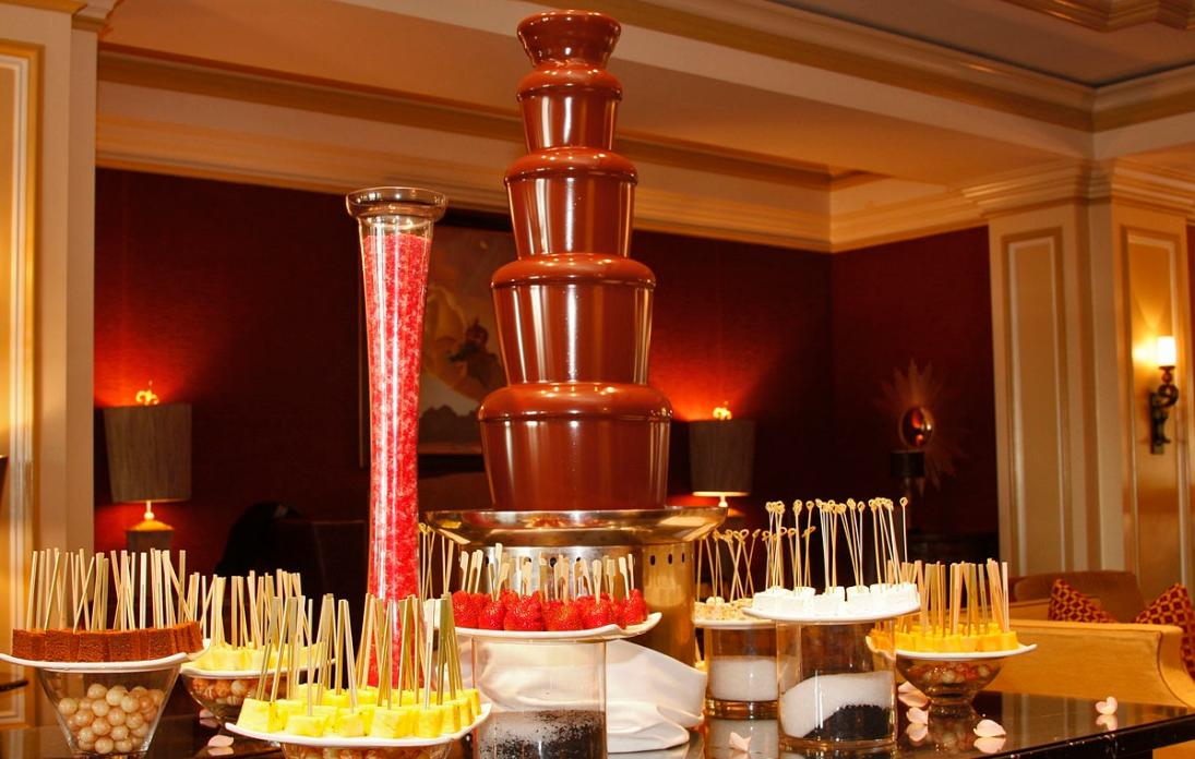 Как организовать бизнес на аренде шоколадных фонтанов