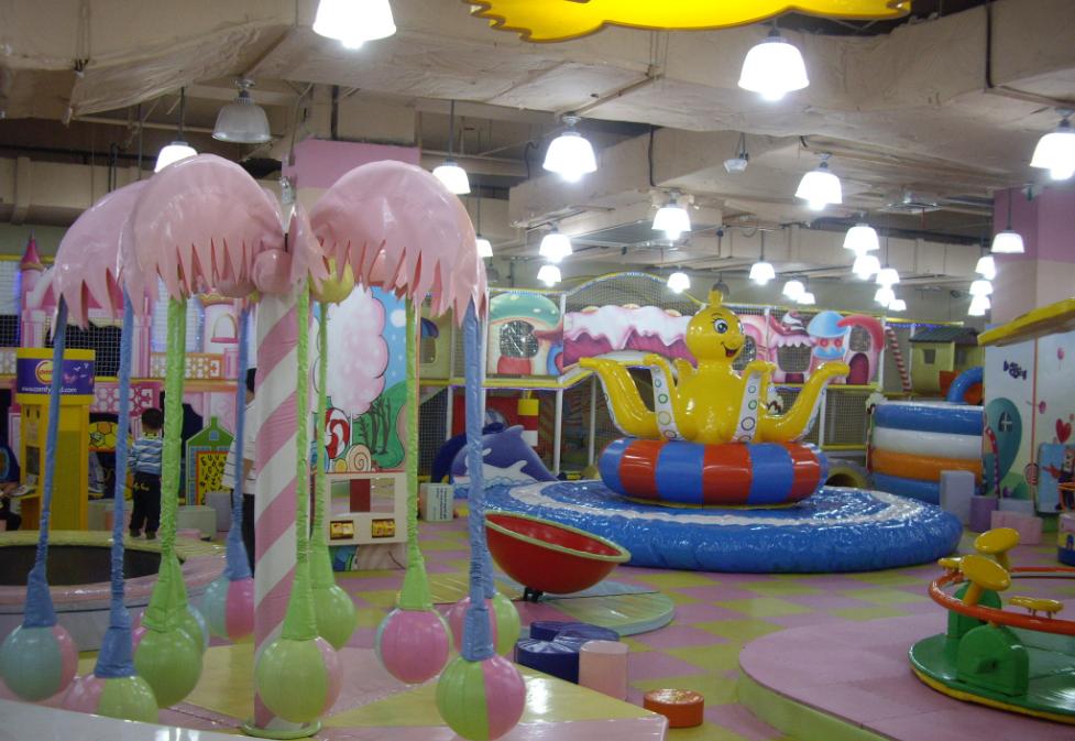 Бизнес на открытии детского игрового комплекса