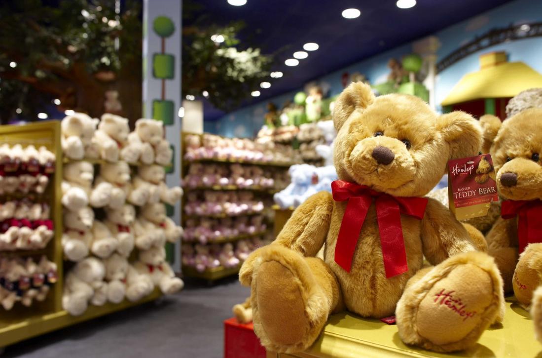 як організувати магазин дитячих іграшок