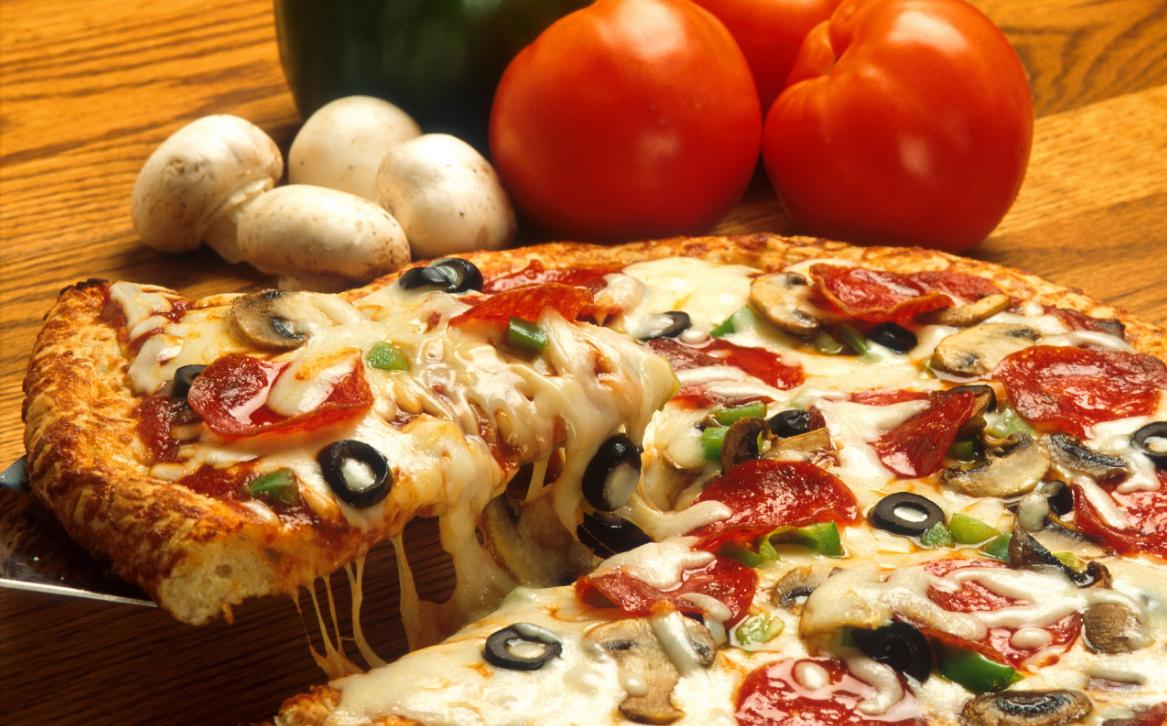 ассортимент пиццерии