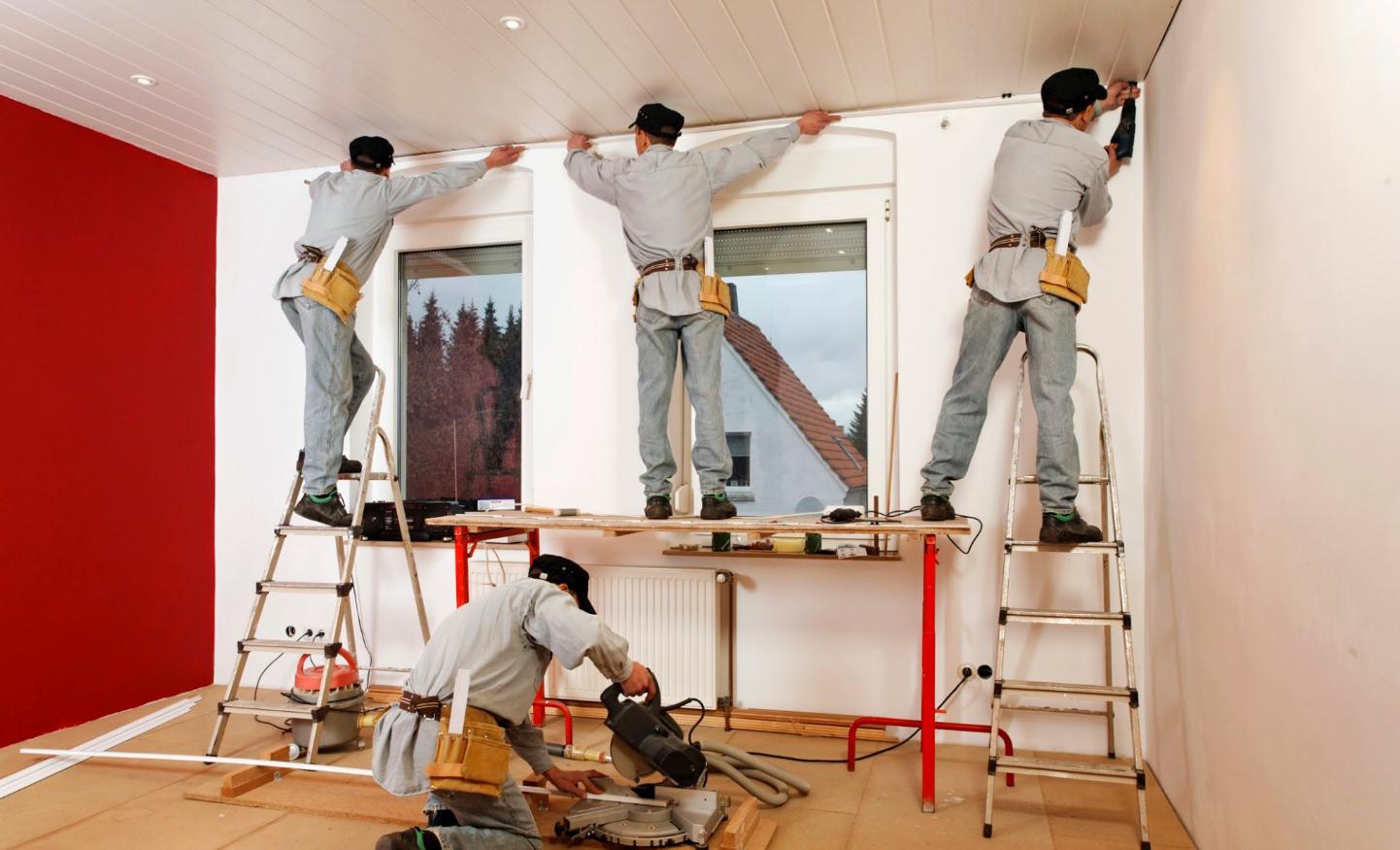 бизнес по ремонту и отделке помещений