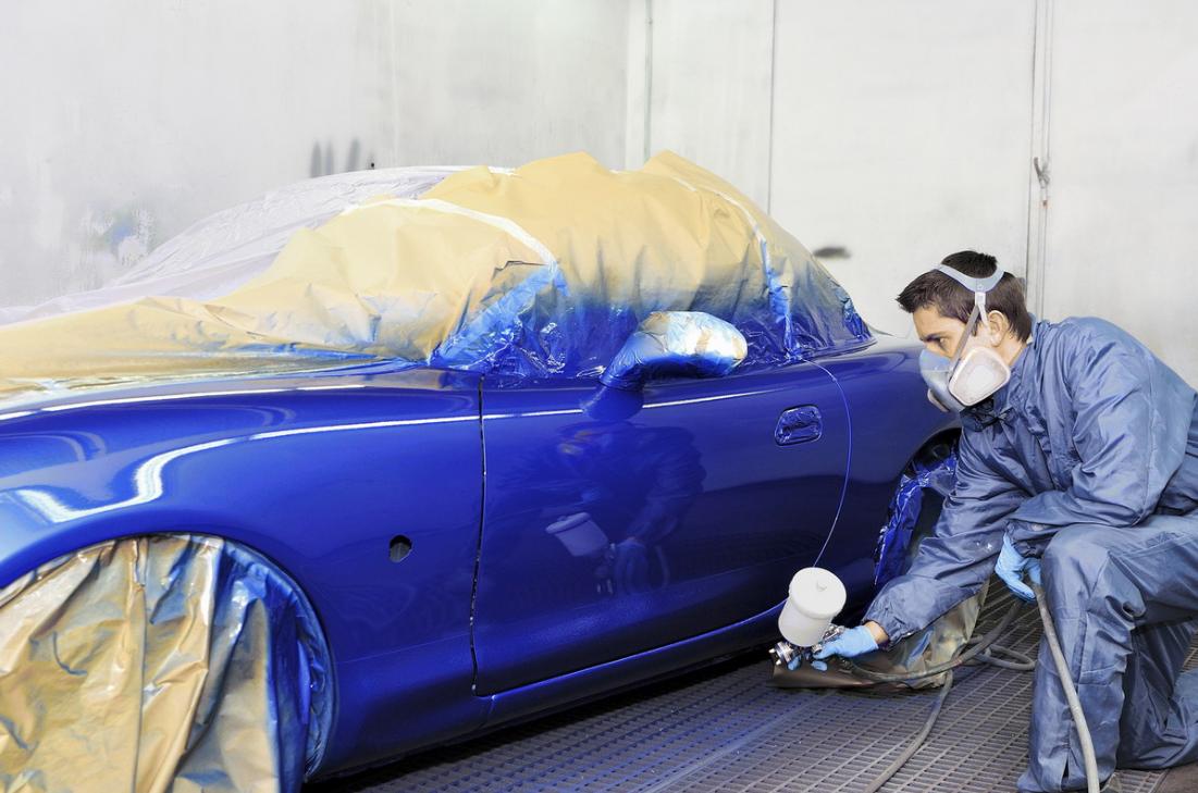 Бизнес на открытии цеха покраски машин