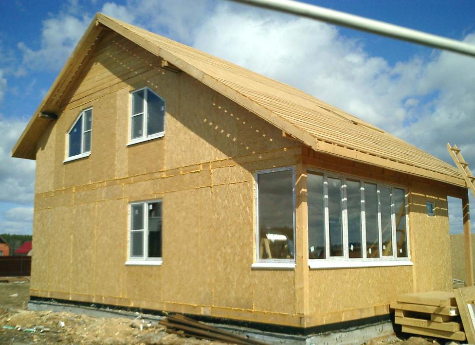 каркасно-панельне будівництво за технологією сип