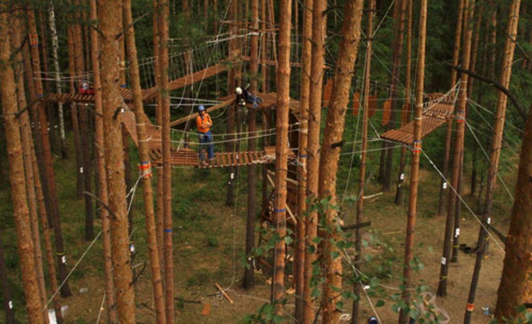 Как организовать бизнес на открытии веревочного парка