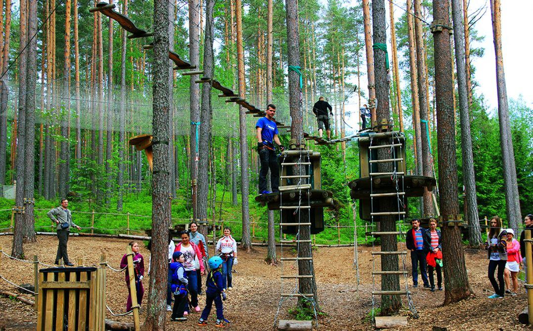 європейська бізнес-ідея мотузкового парку
