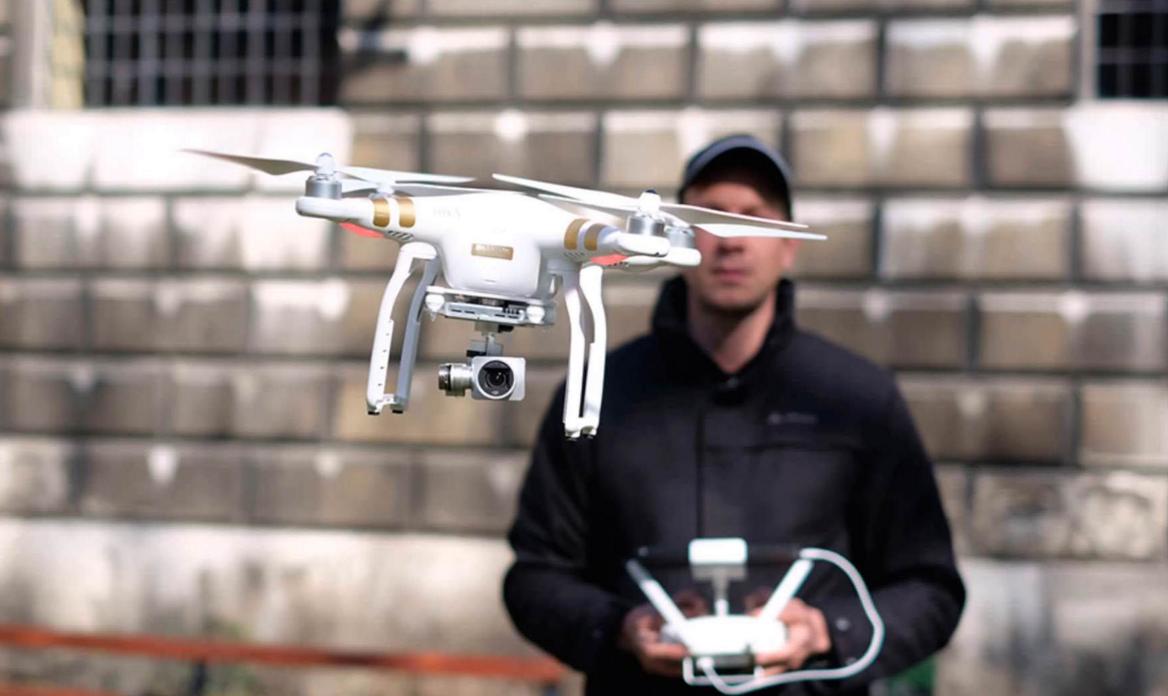 бізнес-ідея зйомки відео на квадрокоптера