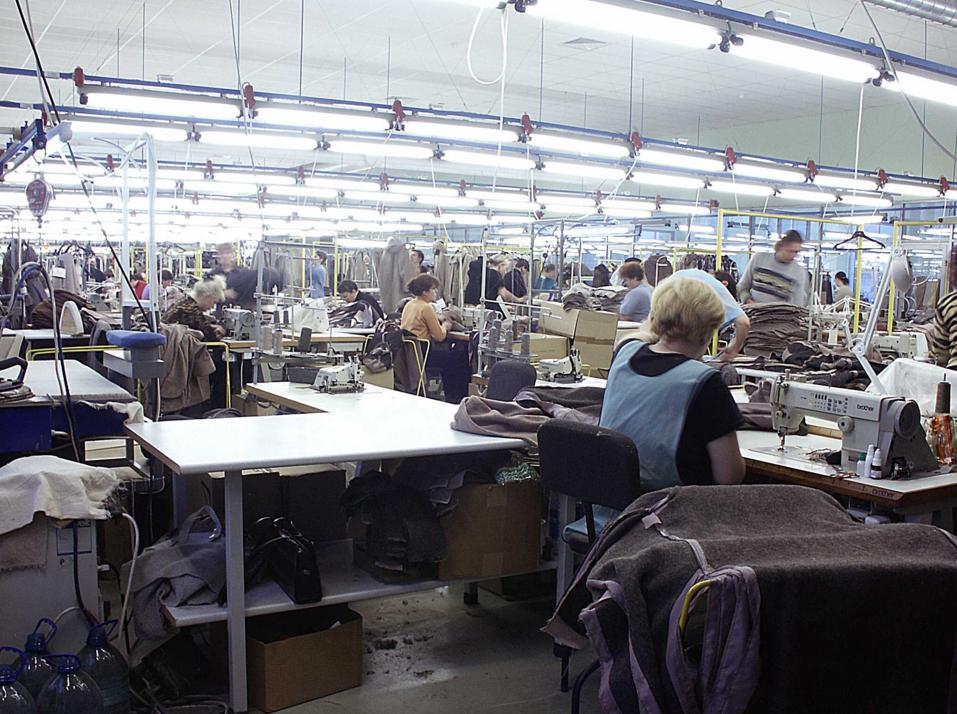 бизнес-идея по швейному производству
