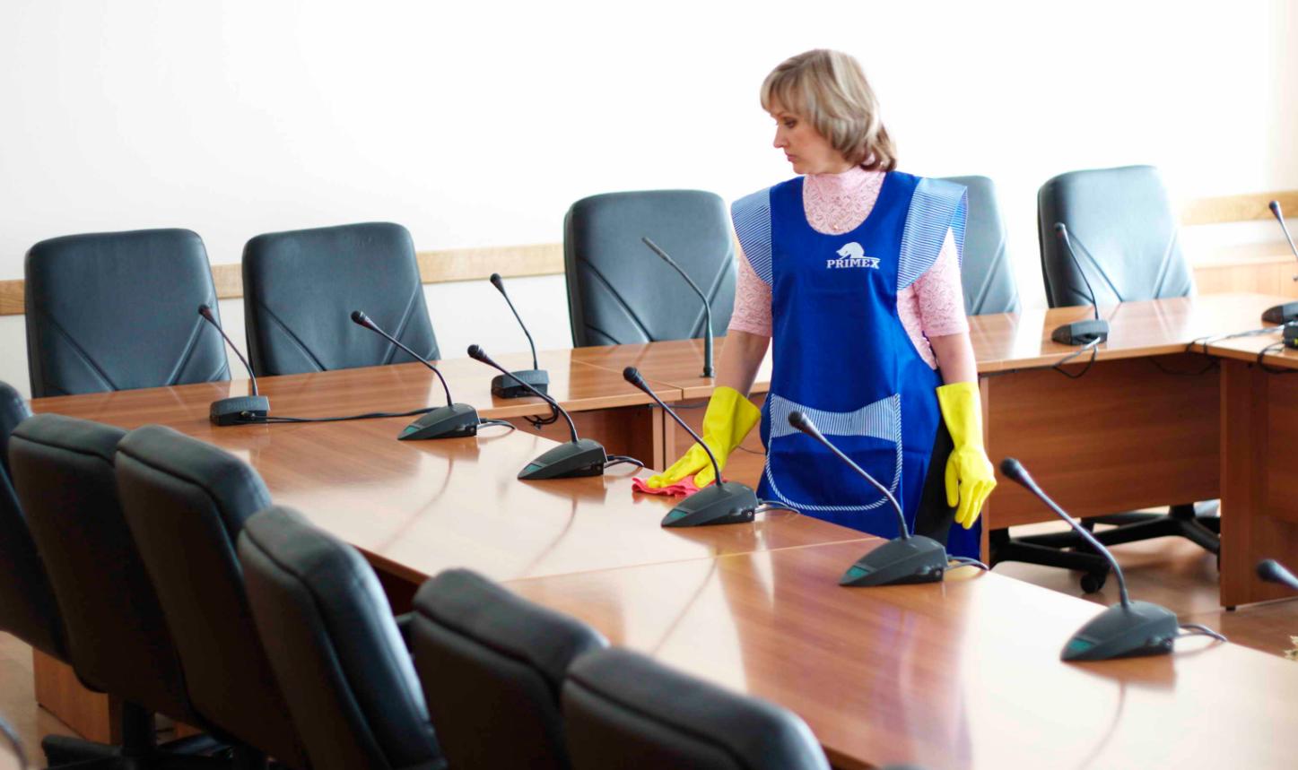 Женская бизнес-идея по уборке помещений