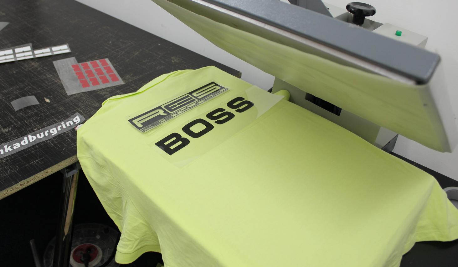 як організувати бізнес по друку зображень на футболках