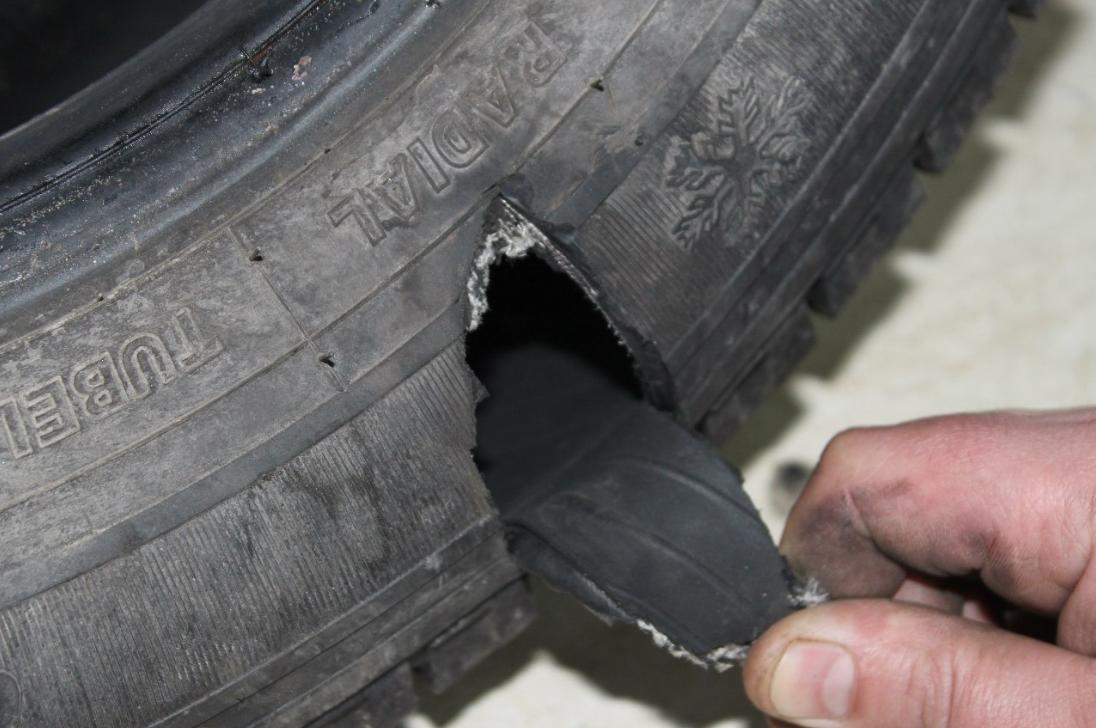 бізнес-ідея відновлення пошкоджених вантажних шин