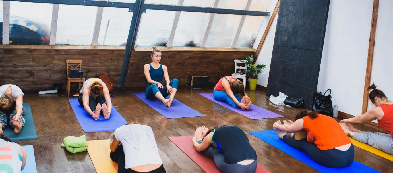 бизнес на открытии студии йоги